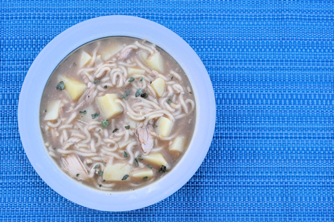 Chicken Noodle Soup (Budget Recipe) 1.6 Litres