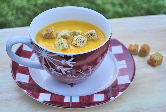 Carrot and Corinader Soup