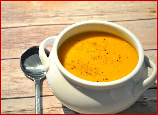 Carrot and Ginger Soup Recipe – 1.6 Litre