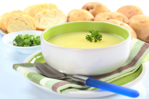 Cream Of Potato And Leek Soup