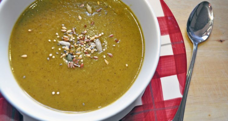 Root Vegetable with Mushroom Soup
